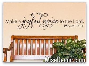 1-Make a Joyful Noise by WiseDecor