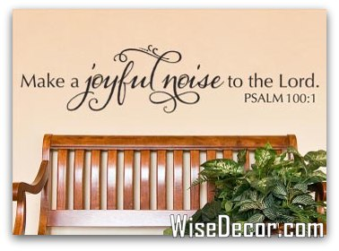 1-Make a Joyful Noise by WiseDecor