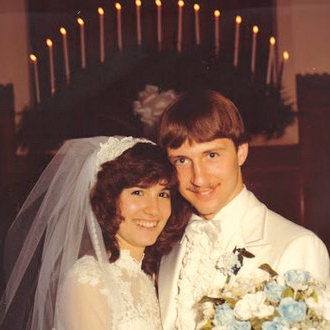 Wedding picture-Doug and Vickie