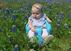 Last but not least: BLUEBONNETS:  (not in my yard, but in my heart! <3)