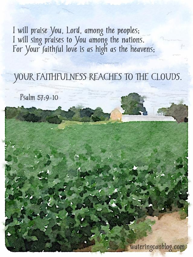 Painted in Waterlogue Faithfulness