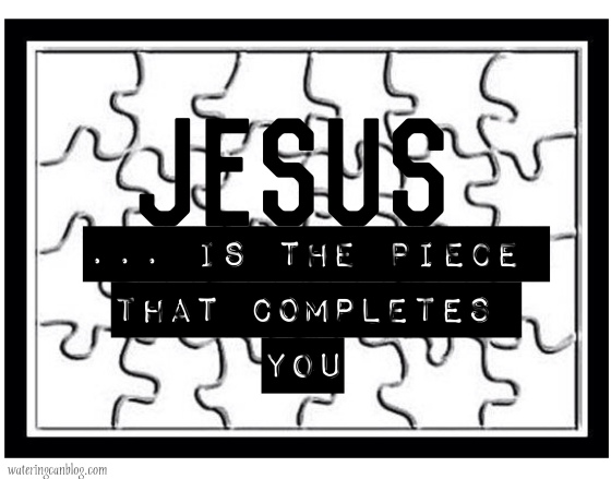 Jesus=the missiing piece