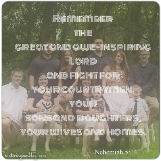Nehemiah 5:14