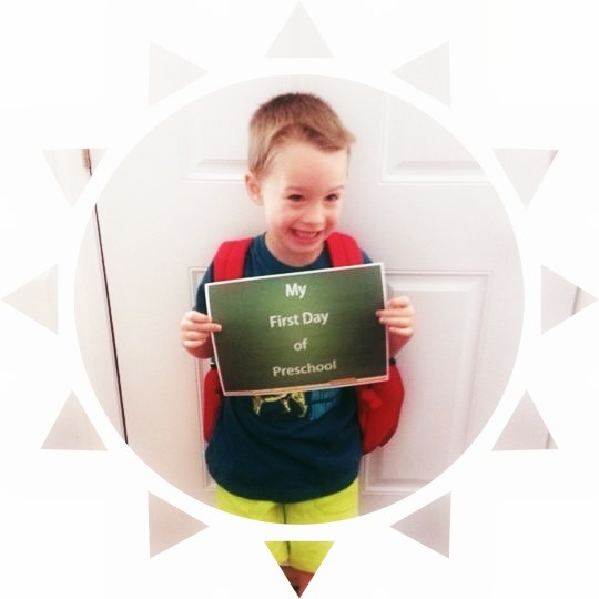 Nolans First Day of Preschool