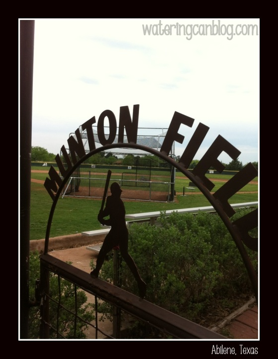 Munton baseball field