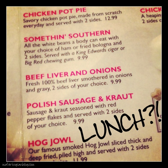 Lunch?