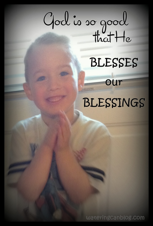 Bless Our Blessings