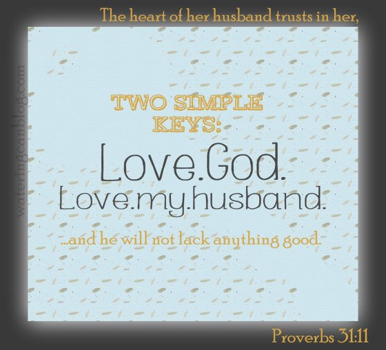 Keys To A Good Marriage