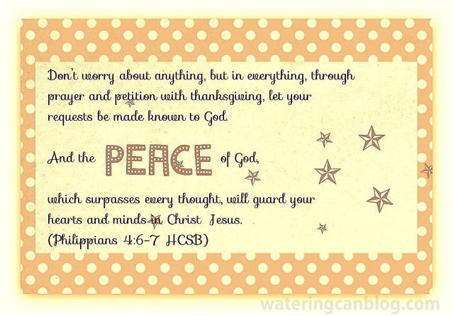 PEACE--Phil 4