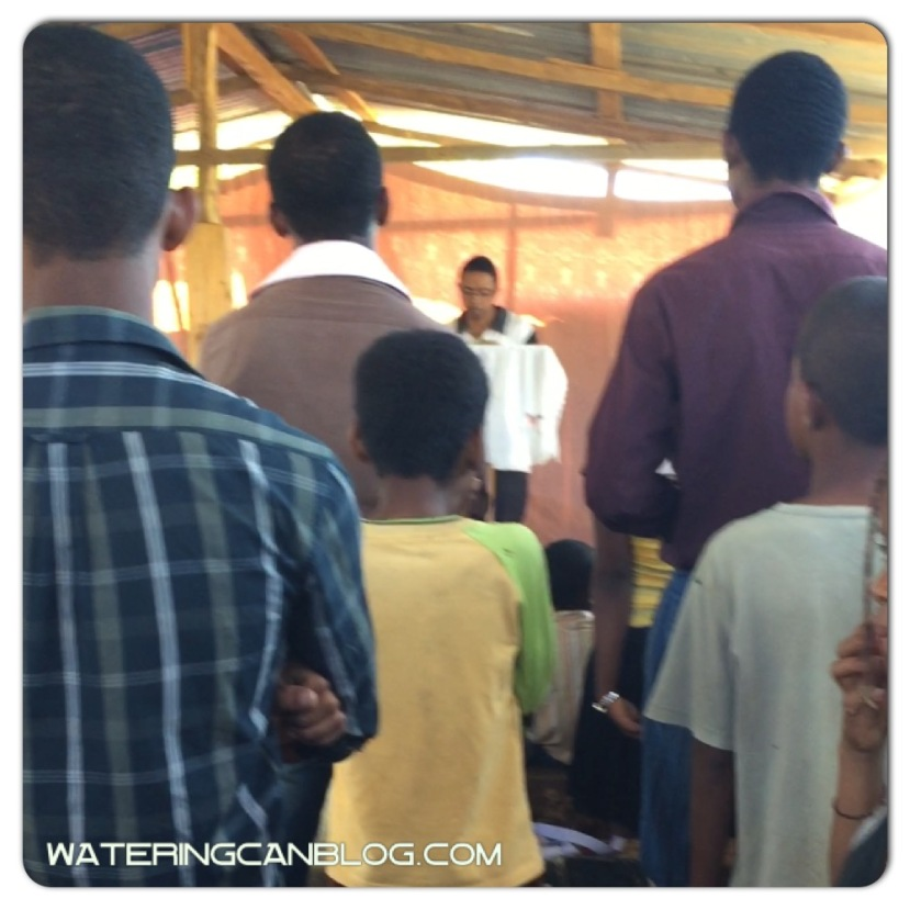 Sunday morning worship in Toliara, Madagascar