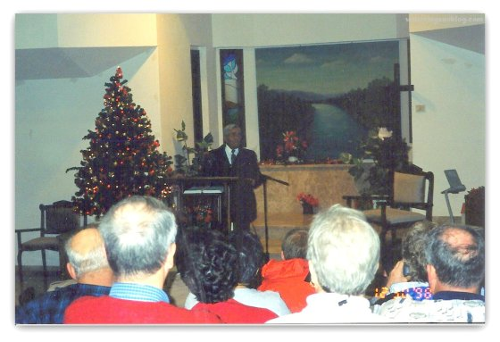 Nazareth Baptist Church     December 30, 1998