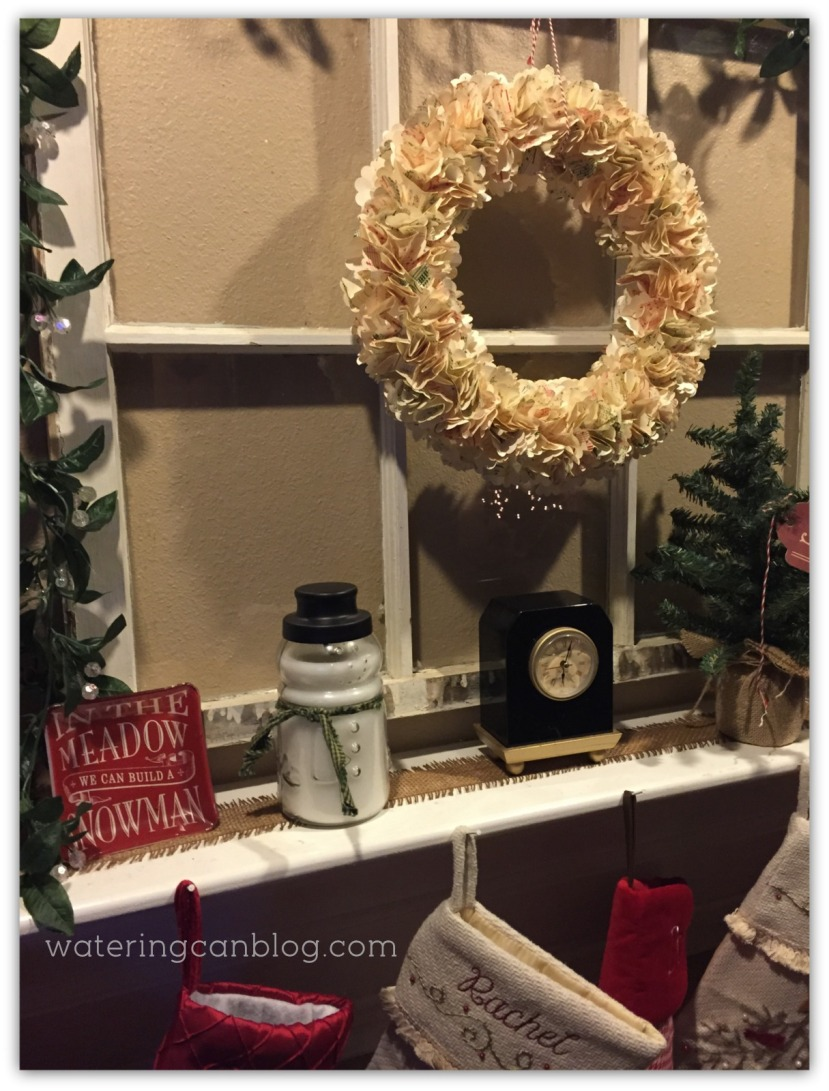 Paper Punch Christmas Wreath