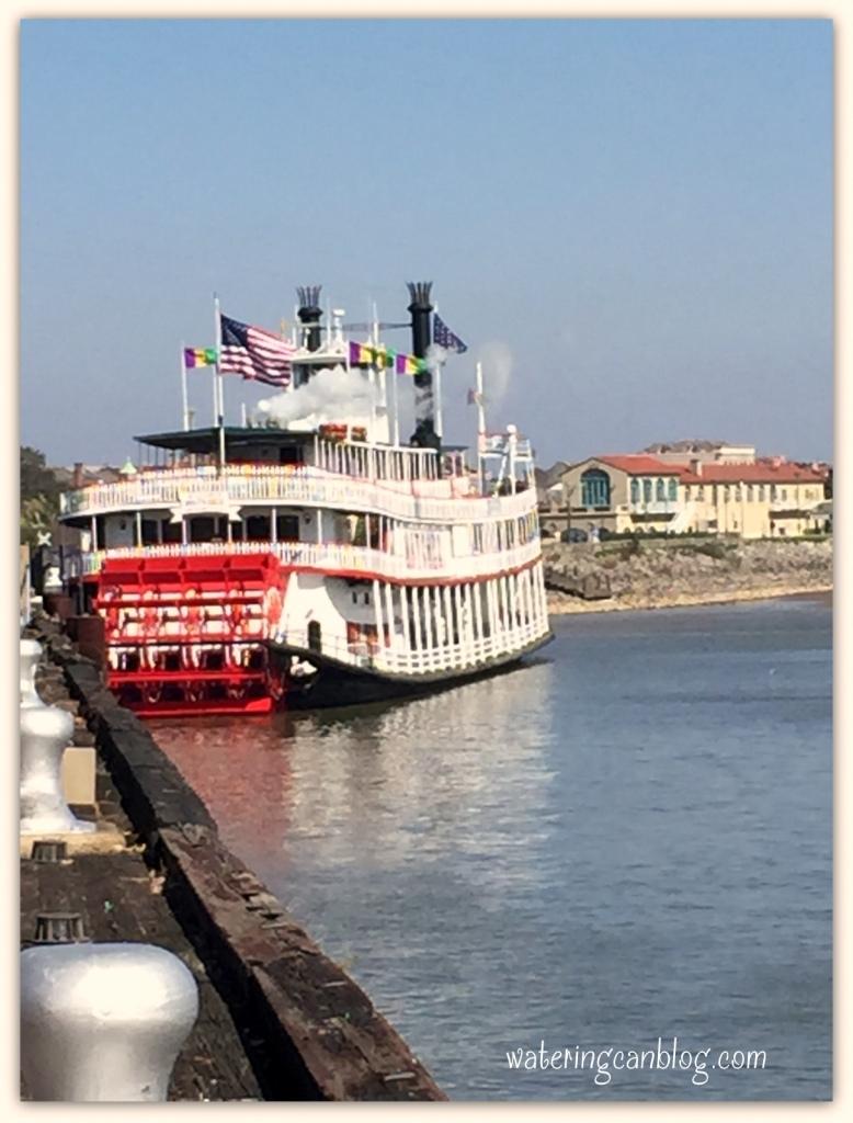 Mississippi River Boat, New Orleans