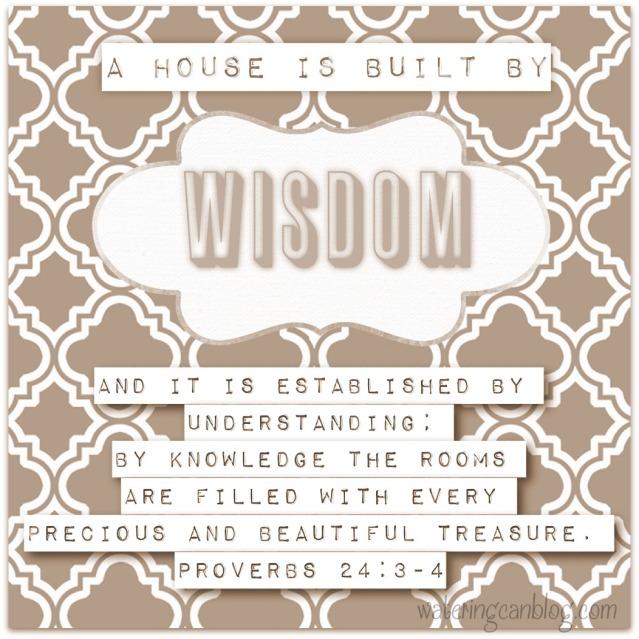 Wisdom in Proverbs