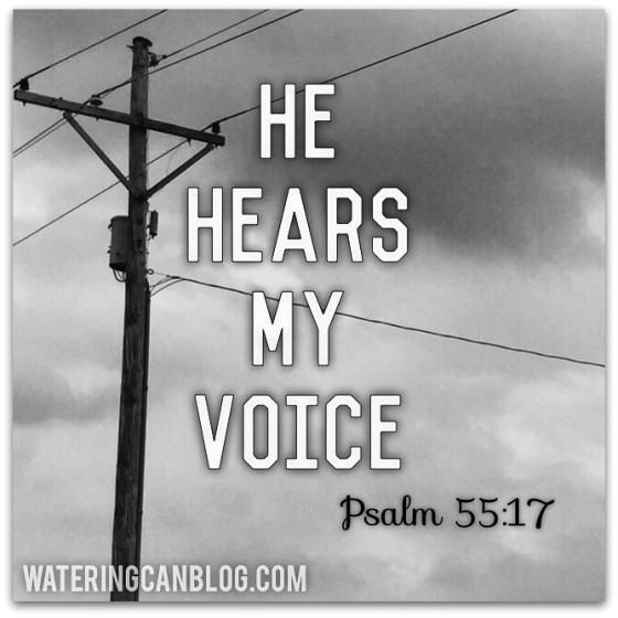 Psalm 55:17