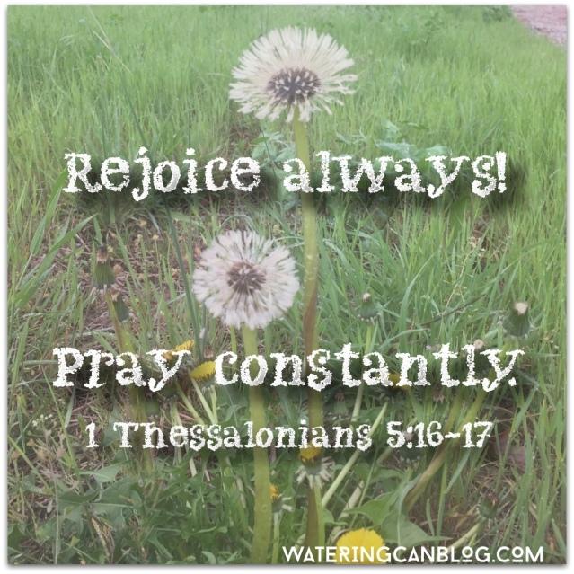 Pray Constantly