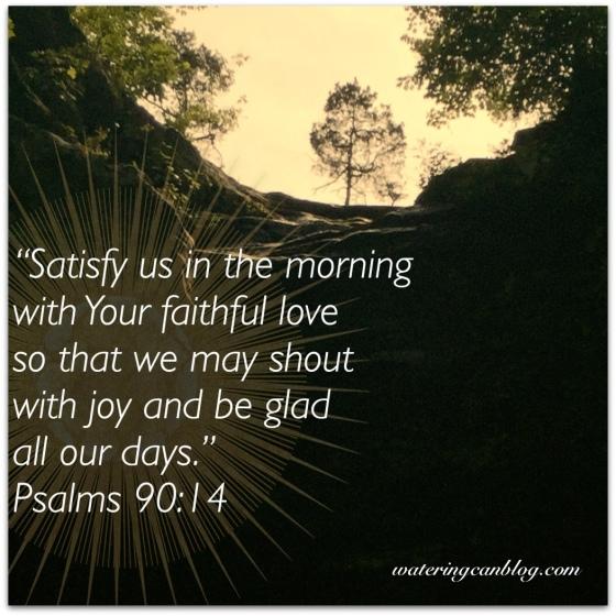 Psalm 90.14