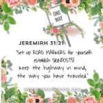 Jeremiah 31:21