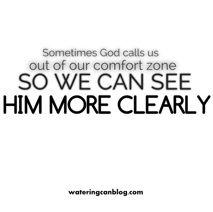 God's Comfort Zone