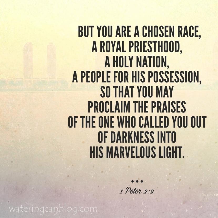 1 Peter 2: 9
