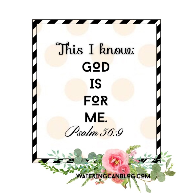 This I know God is for me 6-9-2015 9-11-00 AM