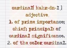 cardinal definition
