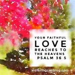 Psalm 36.5