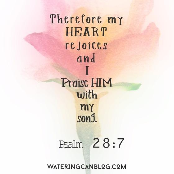 Psalm 28.7