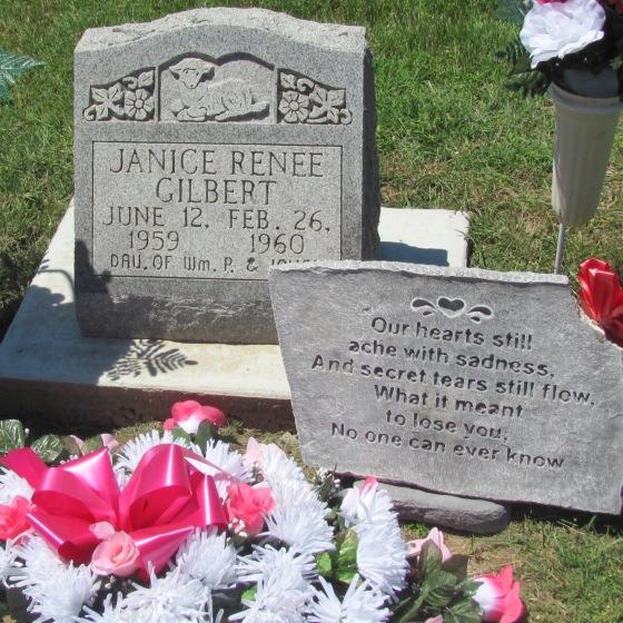 Janice Gilbert tombstone