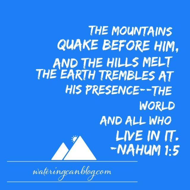 Nahum 1:5
