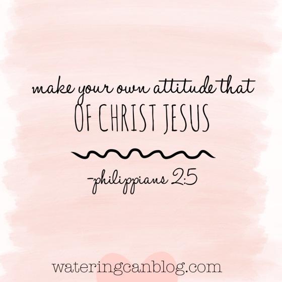 Attitude of Jesus-- Philippians 2
