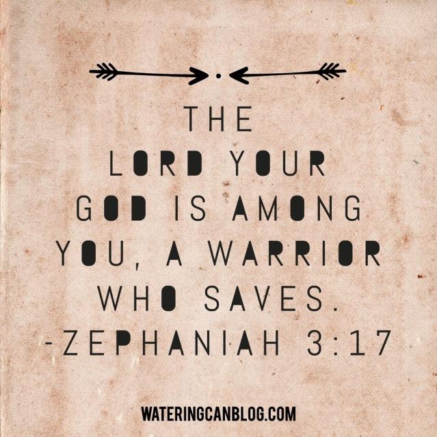 A Warrior Who Saves Zephaniah 3.17