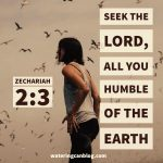 Seek the Lord - Zephaniah 2.3