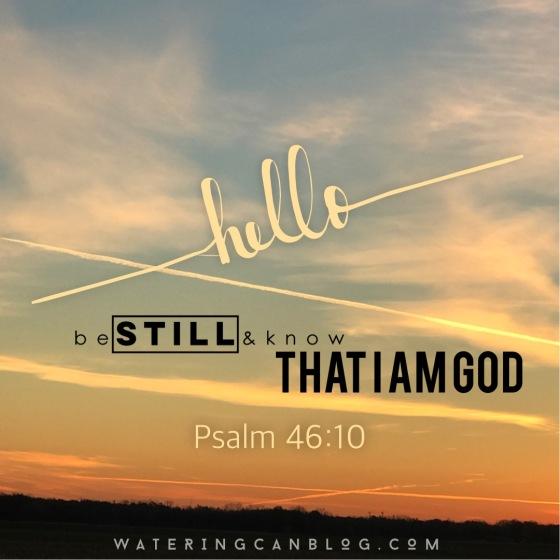 Psalm 46.10