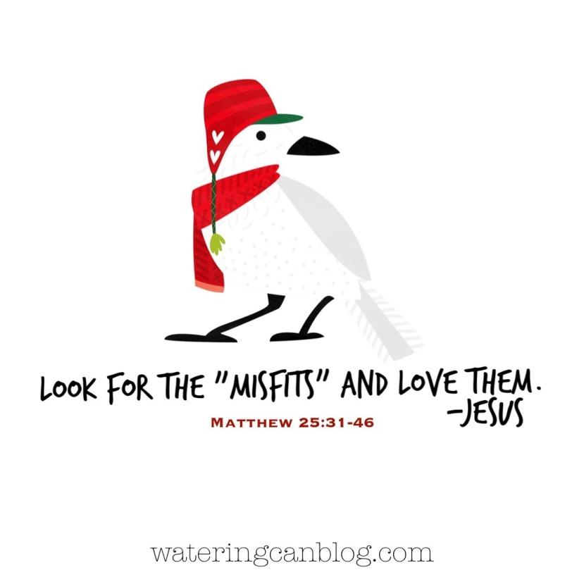 Jesus Loves Misfits!