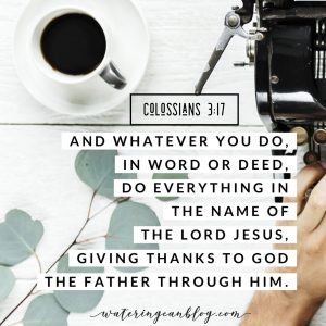 Reading Through the Bible: Colossians